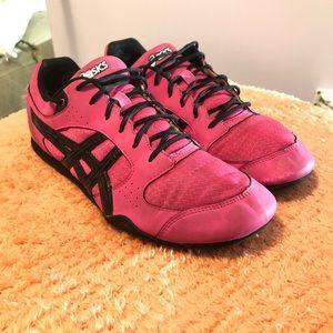 ASICS Womens Rhythmic Sneakers Pink Size 10.5